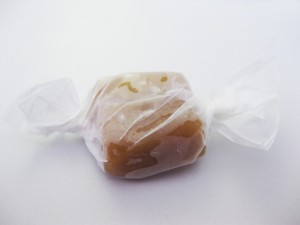 wrapped caramel
